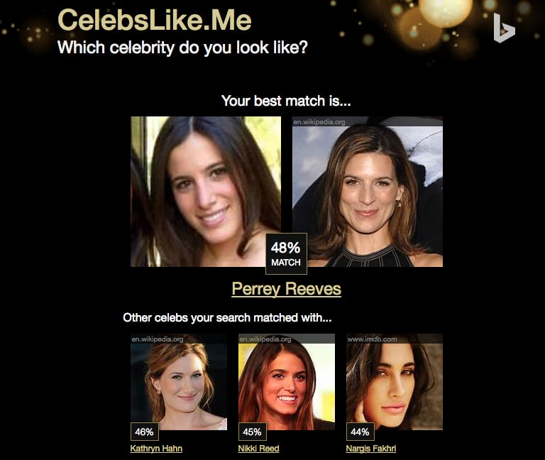 A Dating App That Matches You To Celebrity Lookalikes Now ...