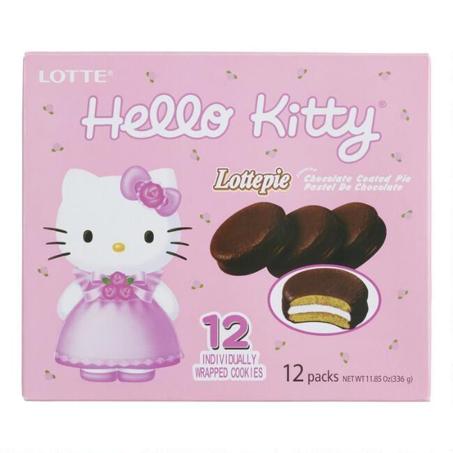 Lotte Hello Kitty Milk Chocolate Lottepie Pack