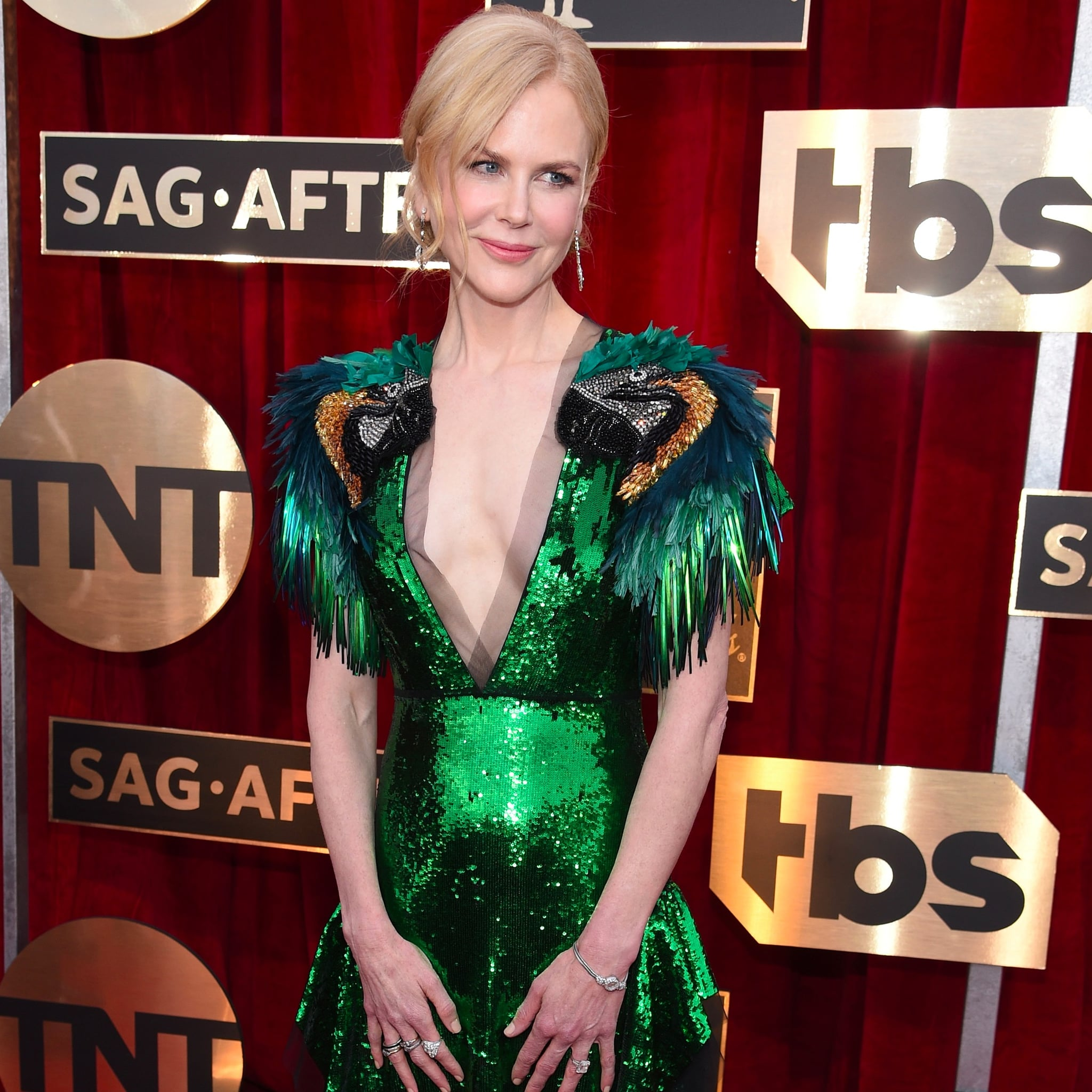 Nicole Kidman Gucci Dress at the SAG Awards 2017 | POPSUGAR Fashion