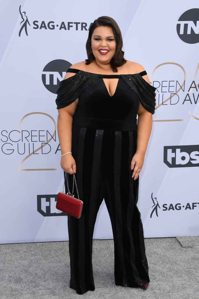 Britney Young at the 2019 SAG Awards