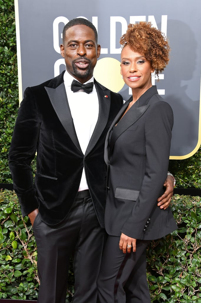 Sterling K. Brown and Ryan Michelle Bathe 2018 Golden Globes