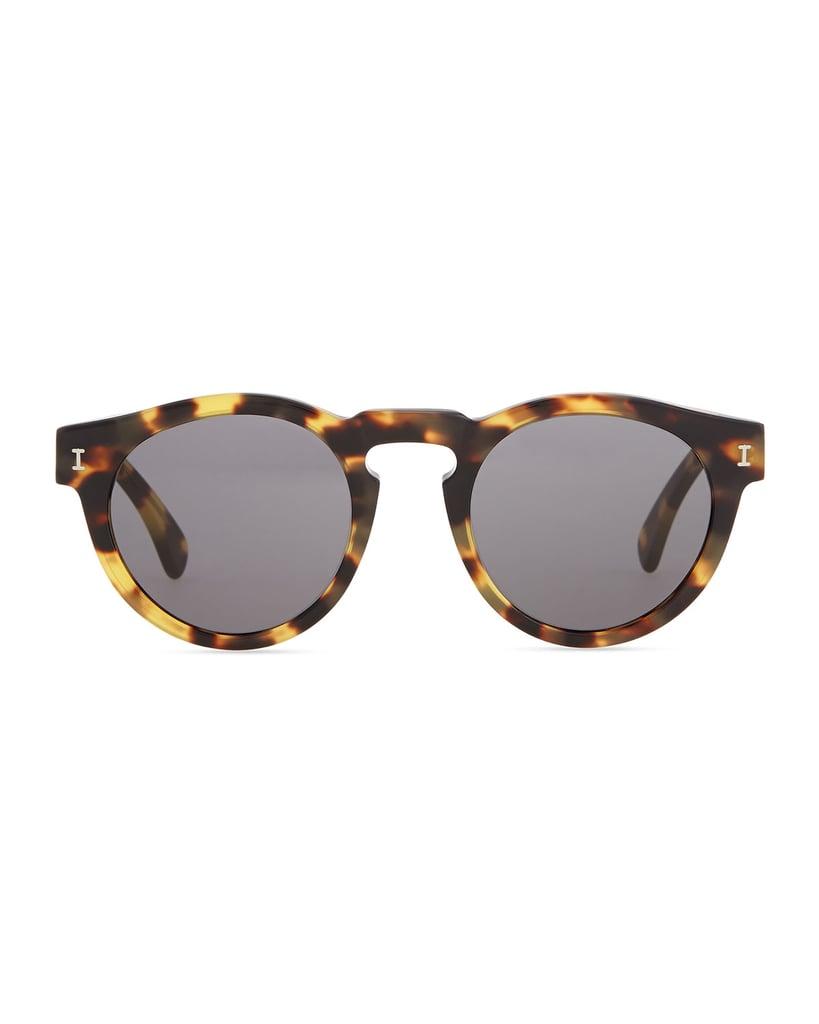 Illesteva Tortoise-Shell Sunglasses