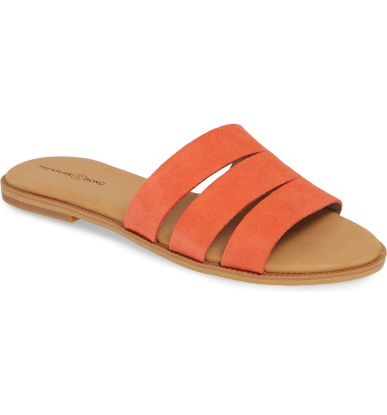 Treasure & Bond Miles Slide Sandals