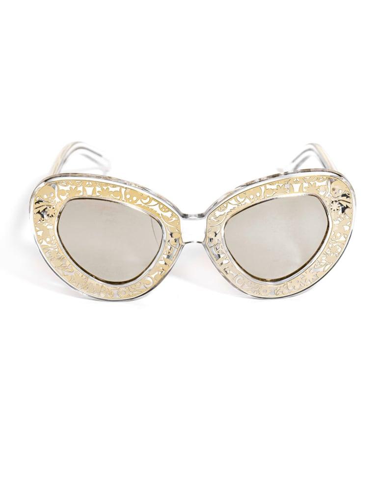 Karen Walker Eyewear Intergalactic Sunglasses ($316)