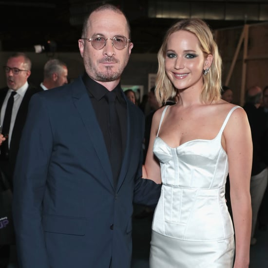 Jennifer Lawrence and Darren Aronofsky at BAM Gala 2018