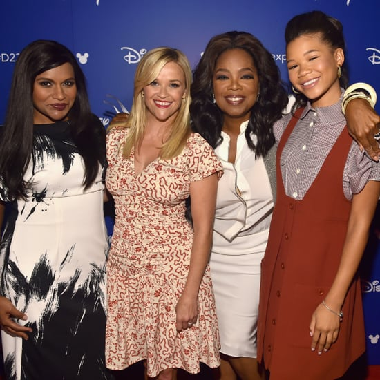 A Wrinkle in Time Cast Hanging Out