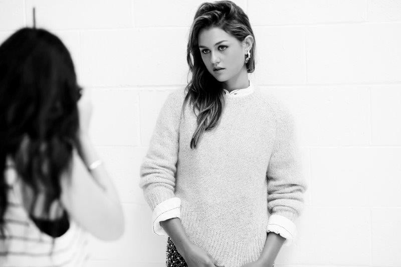 First Look: Isabelle Cornish is Tony Bianco's Latest Muse