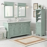 Sadie Double Vanity with Marble Vanity Top ($899, originally $1199)