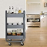 DESIGNA Metal Rolling Storage Cart