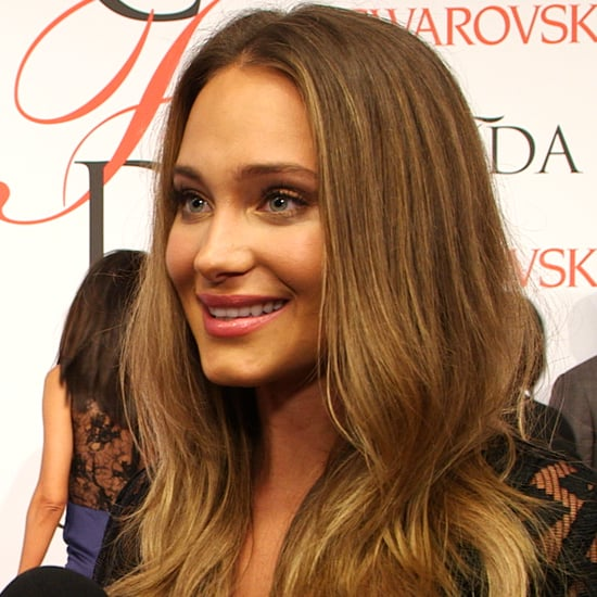 Hannah Davis at the CFDA Awards 2015 | Video