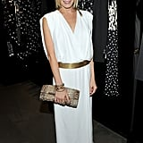 LeAnn Rimes in a white dress.