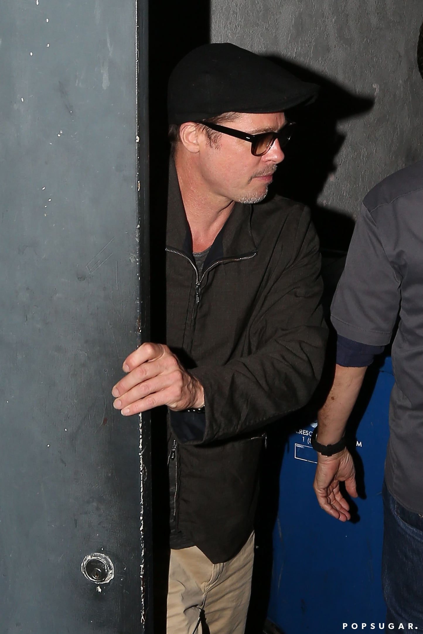 Brad and Angelina Catch a Concert For Date Night