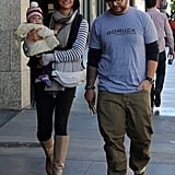 Jack Osbourne and Lisa Stelly became first-time parents to Pearl Osbourne in April.