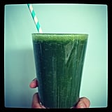 Green juice time! Marisa's putting her new Vitamix to good use!