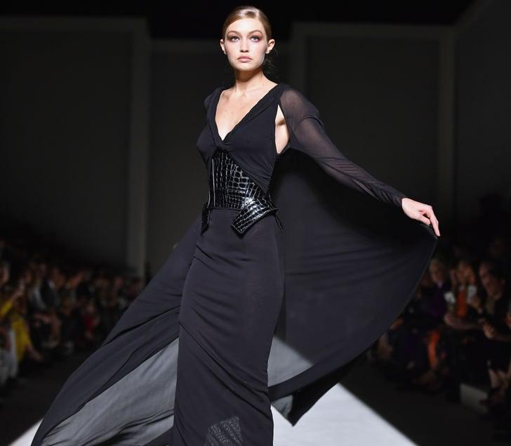 d7f157d55f95e0 Gigi Hadid at Fashion Week Spring 2019   POPSUGAR Fashion Middle East