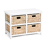 Seabrook 4 Drawer Storage Cabinet