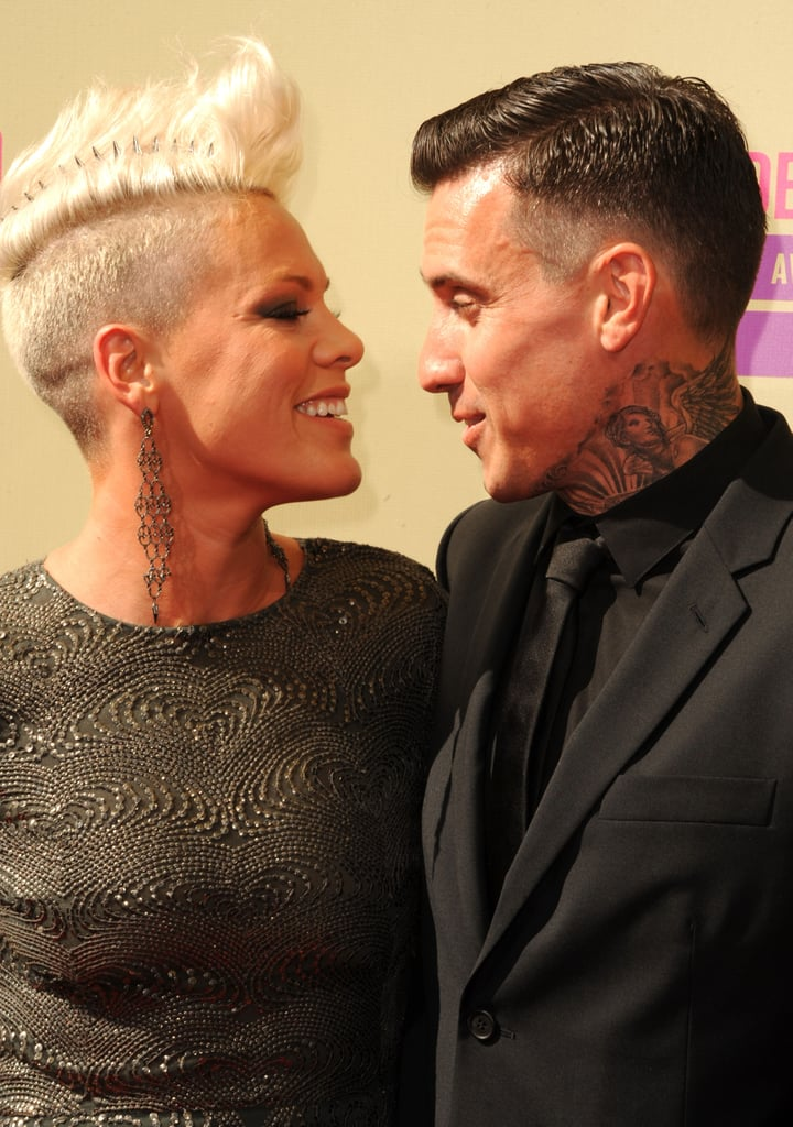 Pink and Carey Hart Show PDA at the VMAs