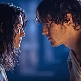 Claire nurses an injured Jamie. Courtesy of Starz