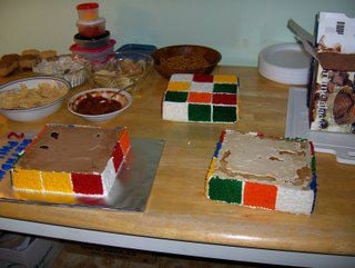 Edible Geek: Rubik's Cube Cake (Second Edition)