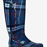 Walk This Way Plaid Rain Boot ($68)