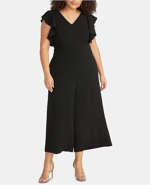 Rachel Rachel Roy Cropped Wide-Leg Jumpsuit