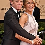 Felicity Huffman and William H. Macy at the 2017 SAG Awards