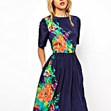 I'm not one for ladylike pieces, but this ASOS floral midi dress ($71) immediately caught my eye. I'd wear this with a pair of metallic sandals for a fun twist on daytime dressing. — Chi Diem Chau, Shopping editor