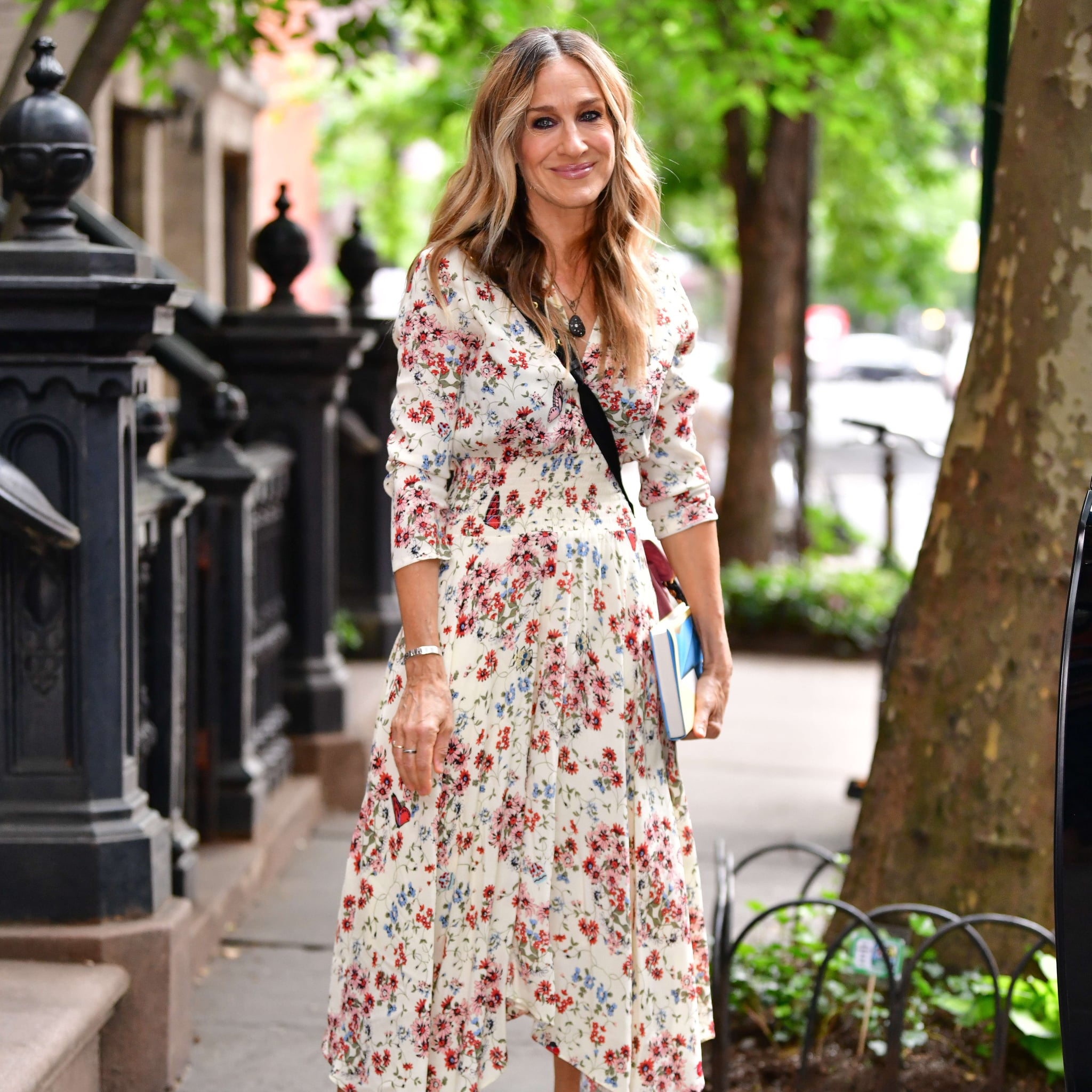e2c6aeb8daf0 Shop It: Maje Rayne Handkerchief Midi Dress | Celebrity Dresses Summer 2018  | POPSUGAR Fashion Photo 3