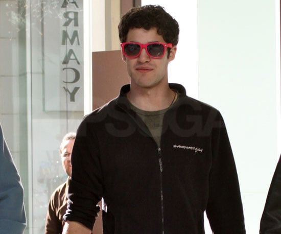 Slide Picture of Darren Criss Shopping in Beverly Hills
