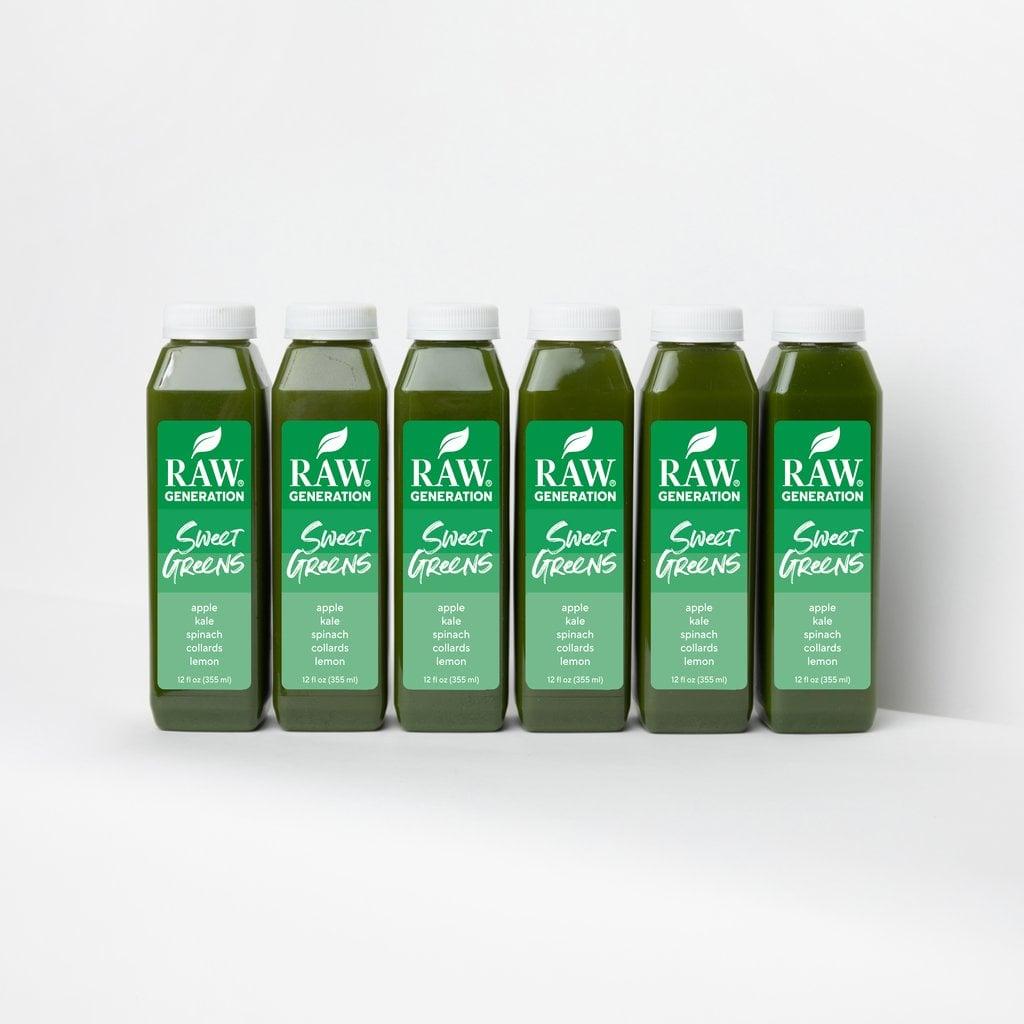 Raw Generation Sweet Greens Juice