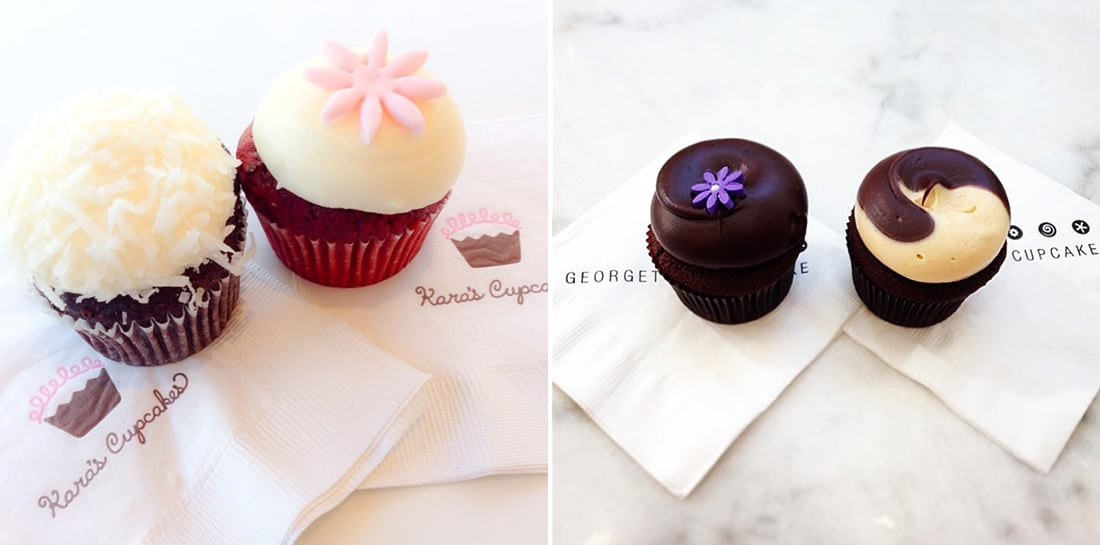 Kara's Cupcakes vs. Georgetown Cupcake