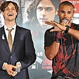 Matthew Gray Gubler and Shemar Moore Friendship Pictures