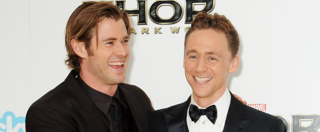 Chris Hemsworth and Tom Hiddleston Have Had a Low-Key Bromance For Years