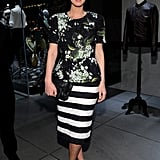 The recipe for cocktail-dressing success? Nicky Hilton's floral-and-stripe Dolce & Gabbana combination (plus royal blue Manolo Blahnik pumps) is one surefire way to achieve it.