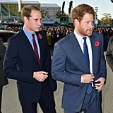 When William and Harry Were Perfectly in Sync