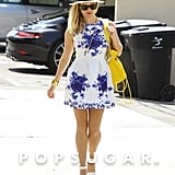 Reese Witherspoon looked rather summery in LA on Friday.