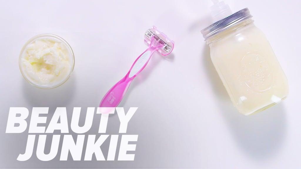 DIY Natural Shaving Cream