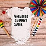 Funny Pokémon Go Baby Onesie