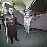 The Night King and Dragon From Game of Thrones