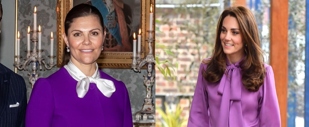 Princess Victoria Similar Outfit to Kate Middleton