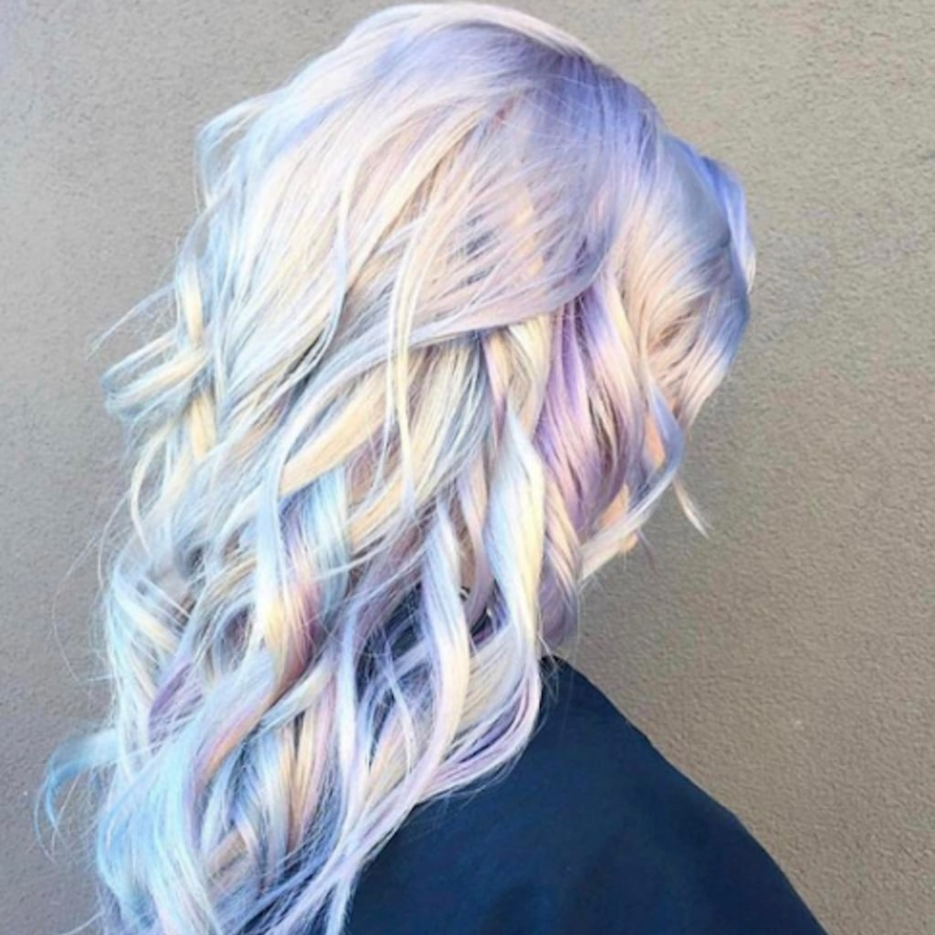 Holographic Hair Colour Trend Popsugar Beauty Australia