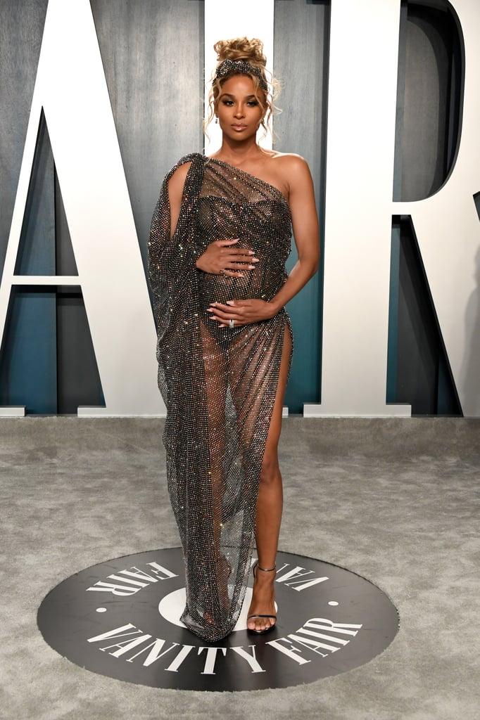 Ciara at the 2020 Vanity Fair Oscar Party