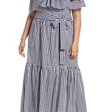 Chelsea28 Off-the-Shoulder Gingham Maxi Dress
