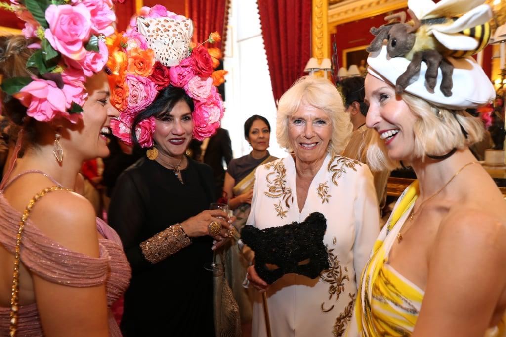 Prince Charles and Camilla at the Elephant Ball June 2019