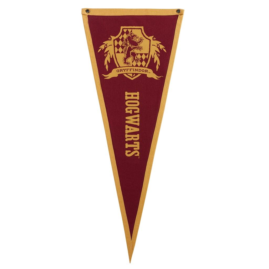 Gryffindor Hogwarts Pennant ($25)