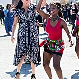 Prince Harry and Meghan Markle Dancing in Cape Town Video