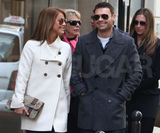 Slide Picture of Ryan Seacrest and Julianne Hough in Paris