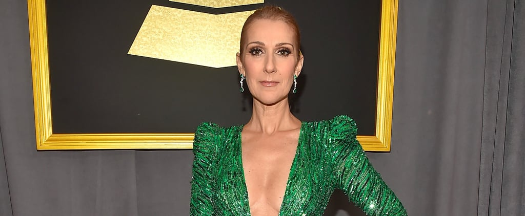 Celine Dion Looks Like She Stepped Right Out of the Emerald City at the Grammys