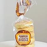 Trader Joe's Pumpkin Bagels