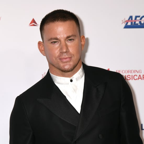 Channing Tatum Gets a Blindfolded Makeover From His Daughter